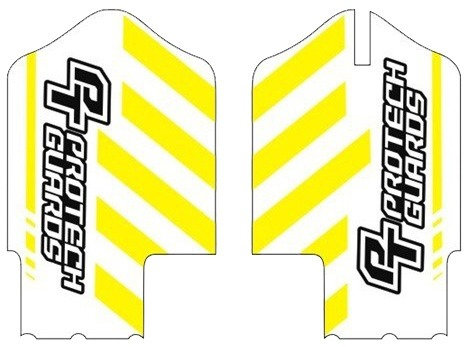 Team graphics yellow/black for Yamaha post 2008