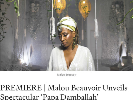 PAPA DAMBALLAH OFFICIAL VIDEO by Malou Beauvoir Premiers on MEDIUM
