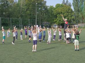 Sport- und Spielefest für die Kids