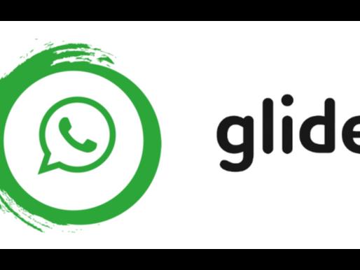 בניית אפליקציית גלייד (glide) לשליחת הודעות וואטסאפ ללא שמירת אנשי קשר