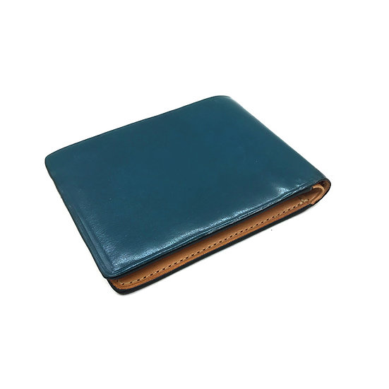 IL BUSSETTO Dollar size Leather Wallet