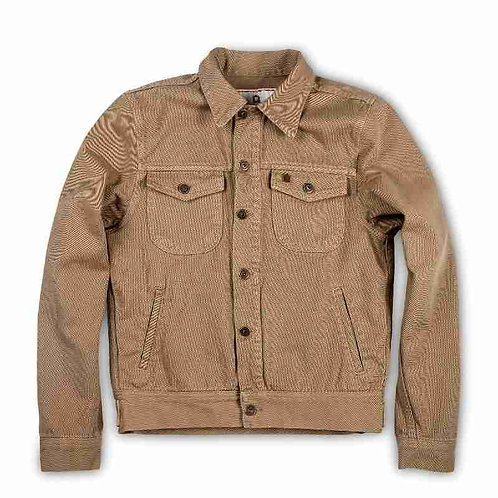 "Shangri-La Heritage ""SINGLE RIDER"" ARMY RAW CANVAS JACKET LIMITED EDITION"