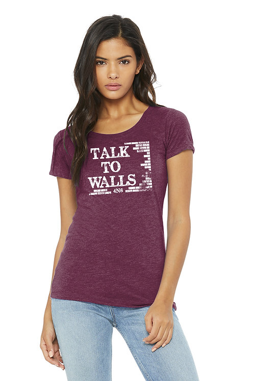 Ladies Tri Blend - BC3001CVC - Talk to Walls