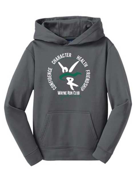Youth Run Club Dryfit Hoodie YST244