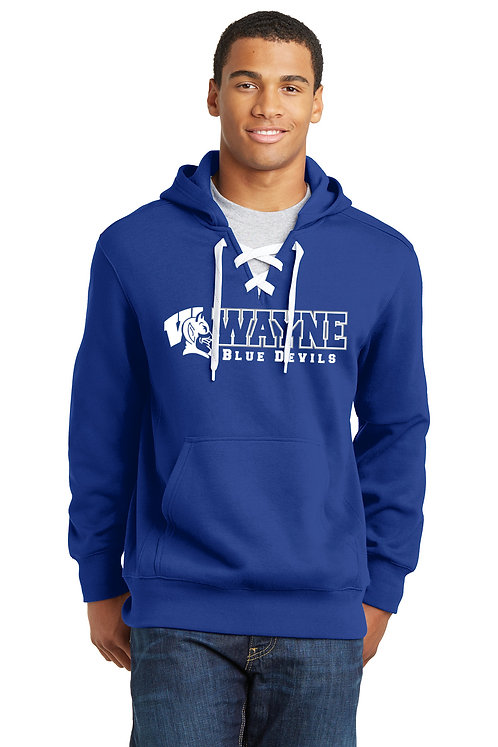 Sport-Tek Lace Up Pullover Hoodie