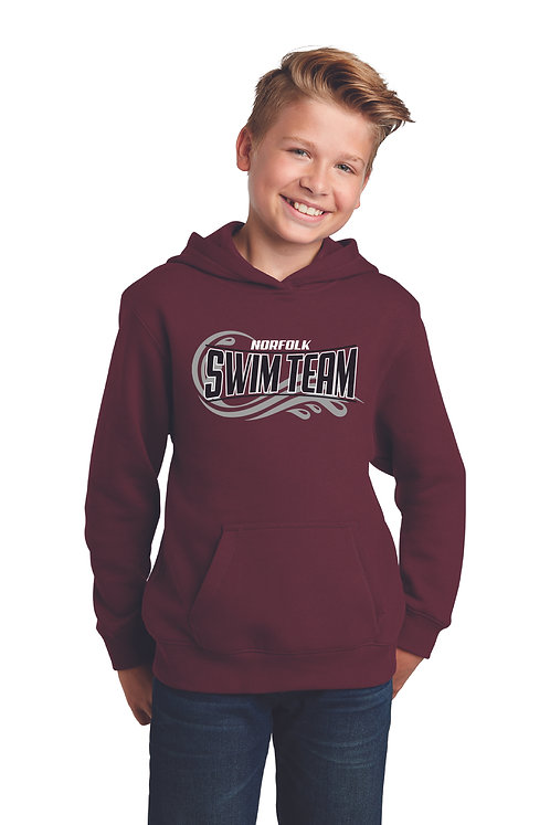 Youth Sport Tek Fleece Hoodie - YST254
