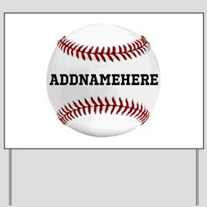 Personalized_Baseball_RedWhite_Yard_Sign