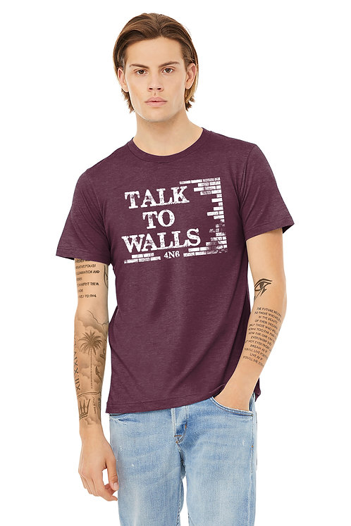 Unisex Triblend - BC3001CVC - Talk to Walls