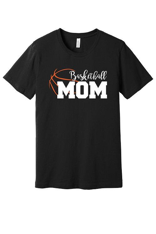 Bella Canvas Basketball Mom