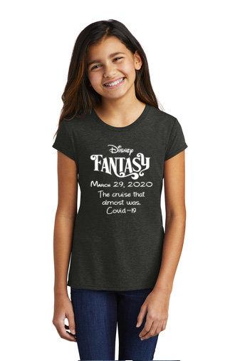 Girls Youth Tri-blend t-shirt