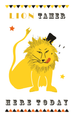 My lion Tamer design was shortlisted in the ToDryFor Design Competition on 25/04/14