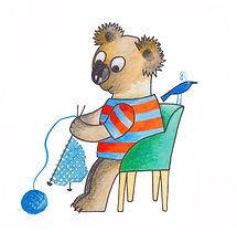 Kelly the Koala knit some knickers!