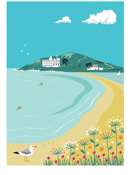 Burgh Island, South Devon - A4