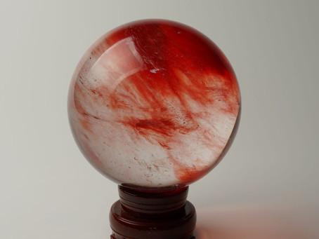 💎とても綺麗な赤水晶💎