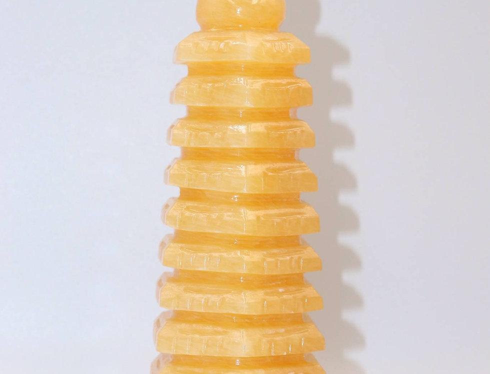 天然アンバー塔(H152.5㎜)