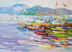 Яхтклуб,90х120,5,2016