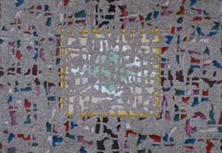 Жёлтая рама 70х100 2003