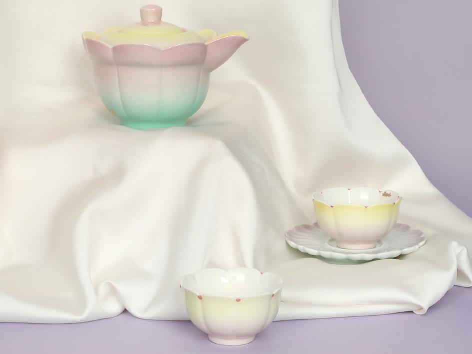 Lotus Teapot Set