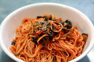 Kimchi cold noodle