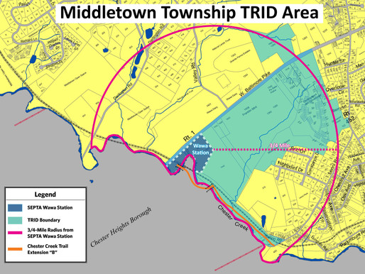 Middletown Township Receives $5.25 Million from State for Transit Oriented Development at New Statio