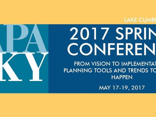 Speaking Engagement: Kentucky APA Spring Conference, 2017
