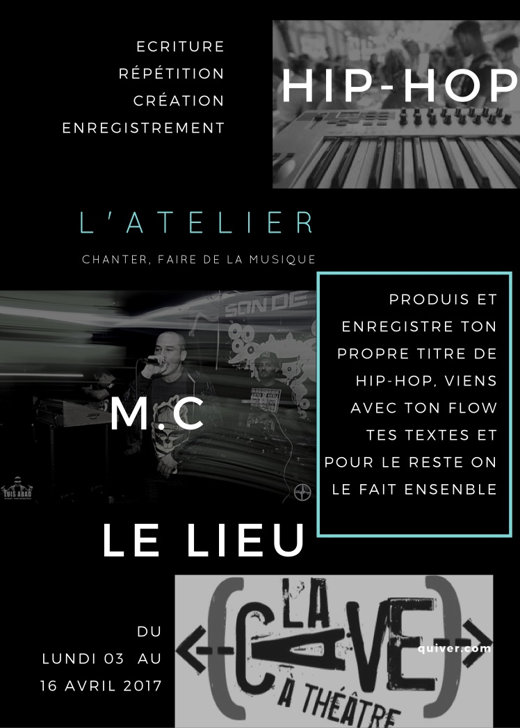 Flyer atelier Hip-hop