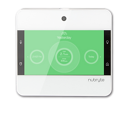 The NuBryte Touchpoint smart home automation.