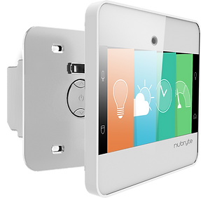 Single switch NuBryte smart home automation device.