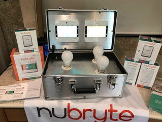 See NuBryte in Action at PCBC in San Diego, CA