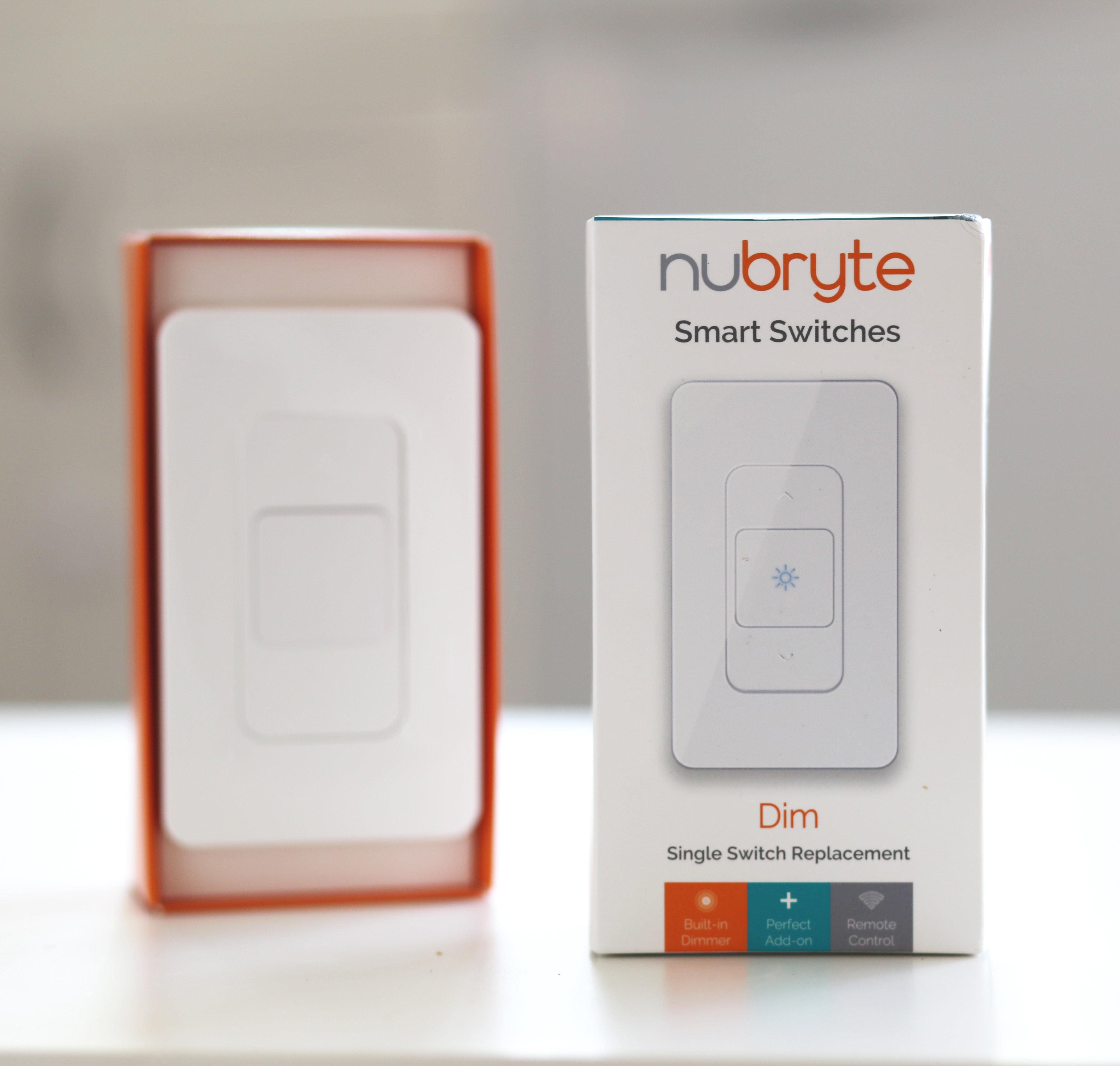Smart Home Automation | NuBryte | NuBryte Smart Switch Dim