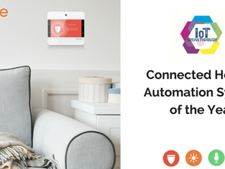 """See Why NuBryte was Named """"Connected Home - Automation System of the Year"""""""