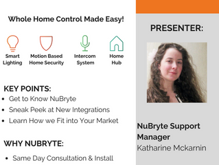 FREE WEBINAR: Why it Pays to Become a  NuBryte PRO