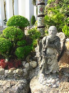 Garden Statue at Wat Pho, Thailand