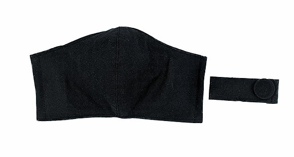 Basic Black Fitted Mask