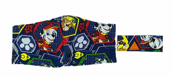 Paw Patrol Profiles Fitted Mask