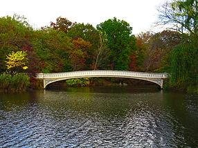 The Bow Bridge - Central Park, New York City in Autum