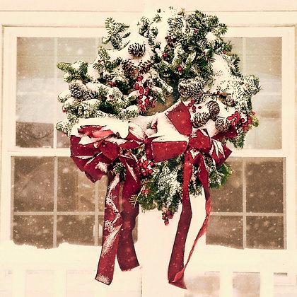 Wreath: 16x16