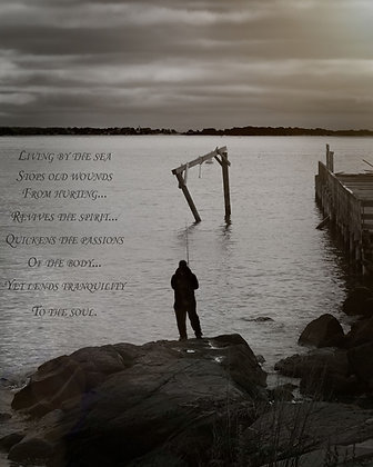 Life by the Sea Inspirational Photo