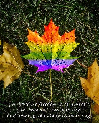 Your True Self: 8x10