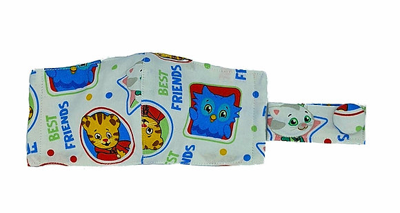 Daniel Tiger Fitted Face Mask