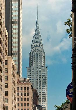 The Chrysler Building on a sunny day, New York City