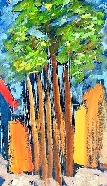 Neighboring trees