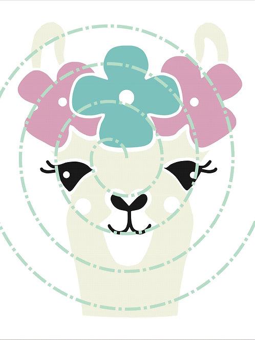 Llama Flowers