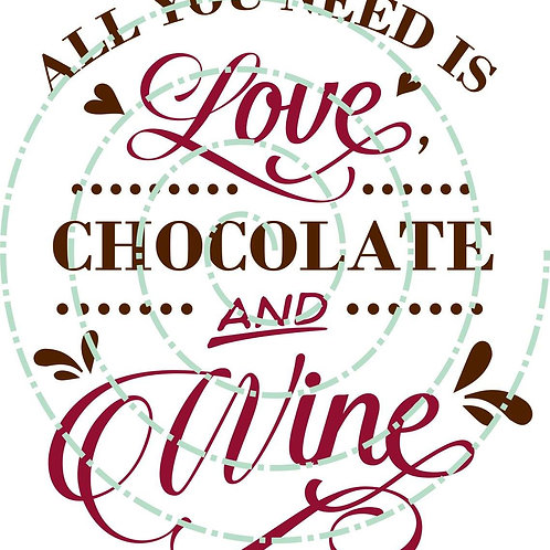 Love, Chocolate, Wine