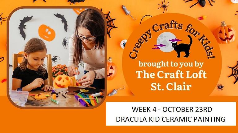 Creepy Crafts for Kids - Week 4 October 23rd