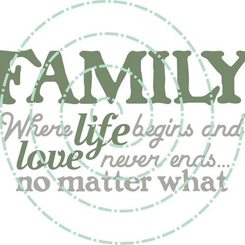 Family - Life Begins