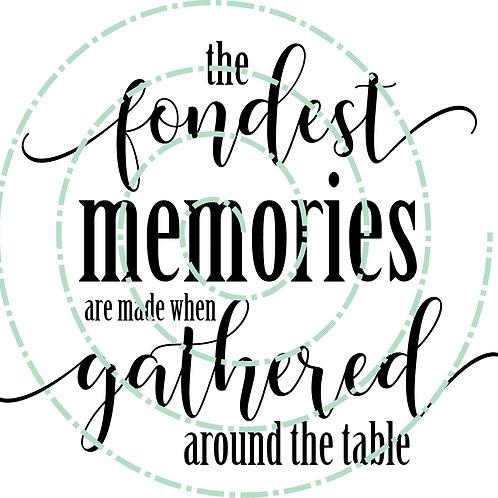 Fondest Memories