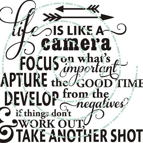 Like a Camera