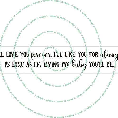 I'll Love You Forever - Long