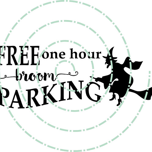 Free Broom Parking